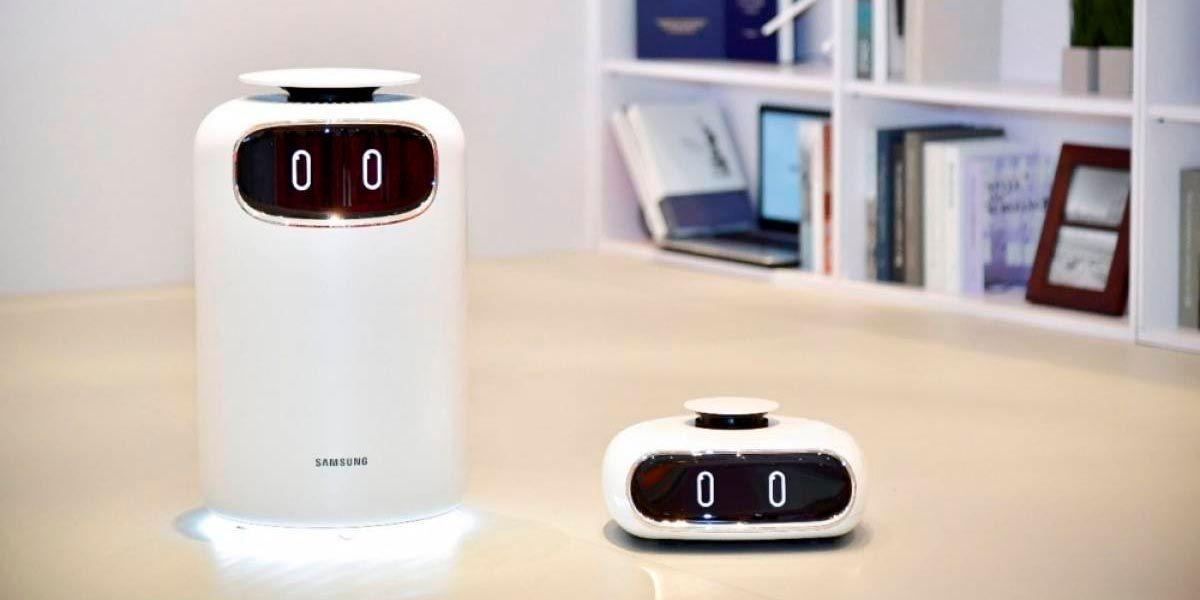 Samsung Bot Air purifica el aire