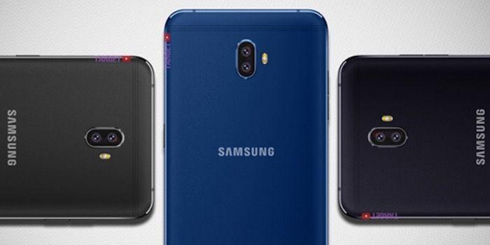 Samsung C10 de 2018 diseno