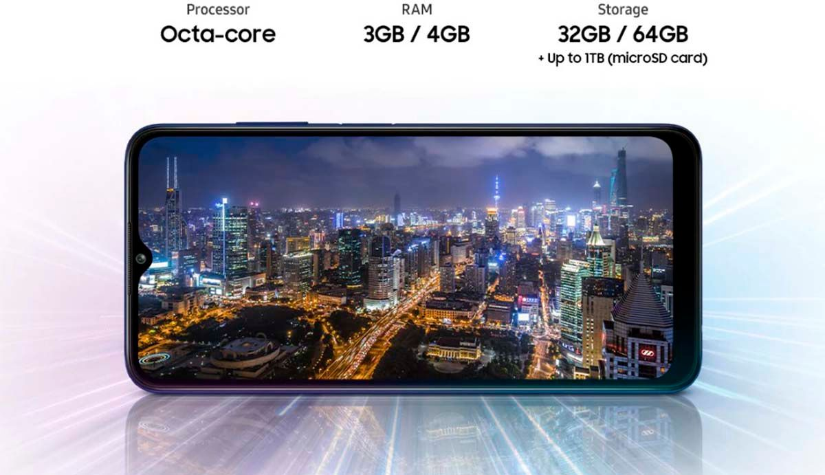 Samsung Galaxy A03s cumple casi todo