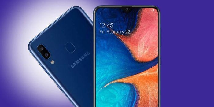 Samsung Galaxy A20e diseño y caracteristicas