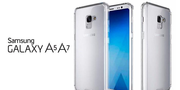 Samsung Galaxy A5 y A7 renders