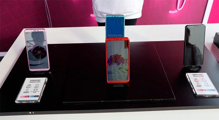 Samsung Galaxy A6s colores