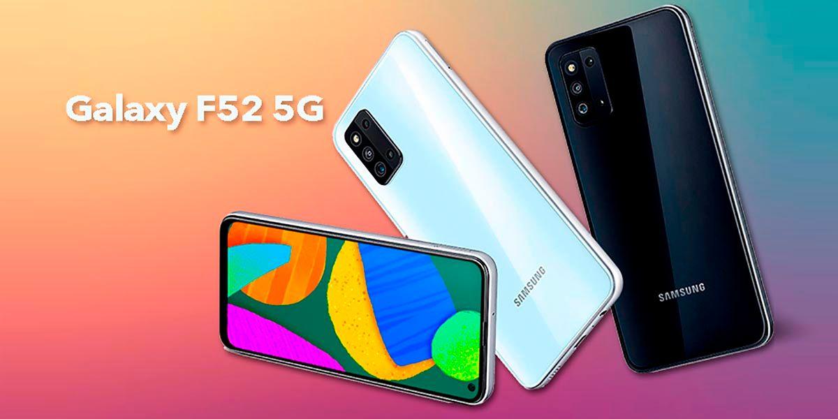 Samsung Galaxy F52 5G especificaciones y precio