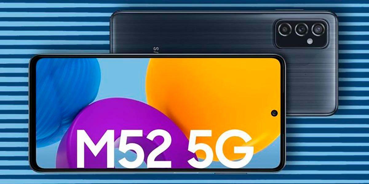 Samsung Galaxy M52 especificaciones y precio
