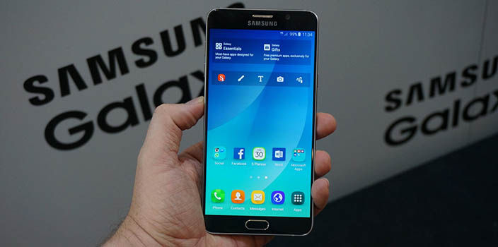 Samsung Galaxy Note 5 futuro