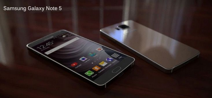 Samsung Galaxy Note 5 rumor