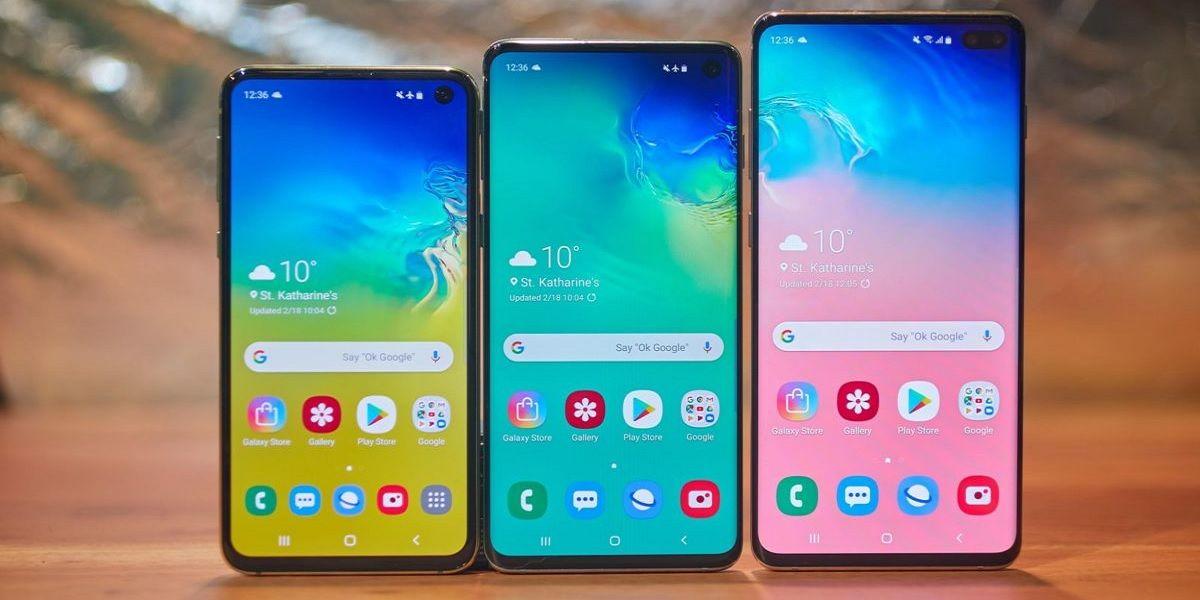 Samsung Galaxy S10 Bloqueo Destacada