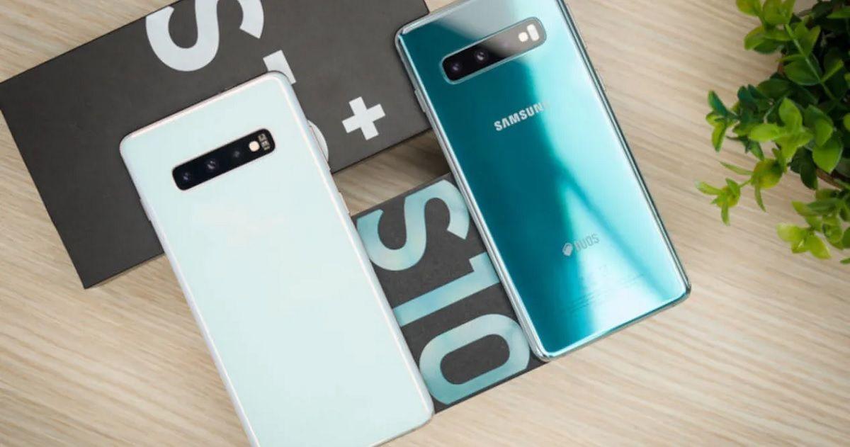Samsung Galaxy S10 Bloqueo