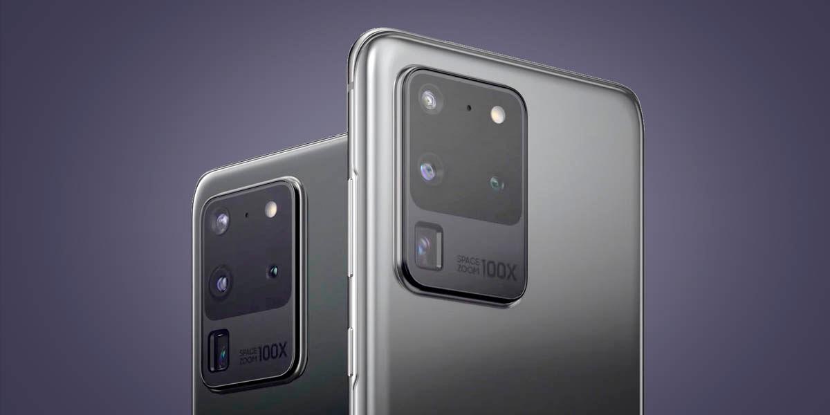 Samsung Galaxy S20 Ultra sensor fotográfico