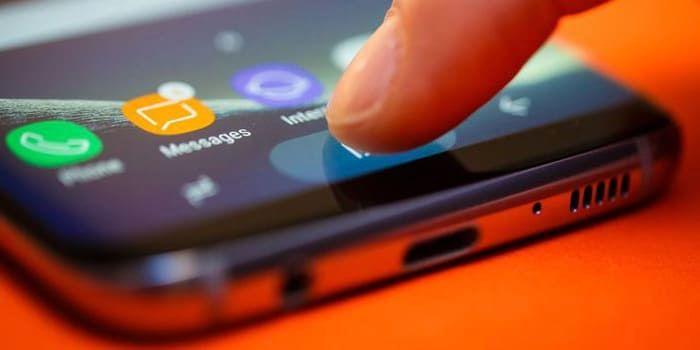 Samsung Galaxy S8 boton