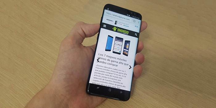 Samsung Galaxy S8 Combinacion teclas