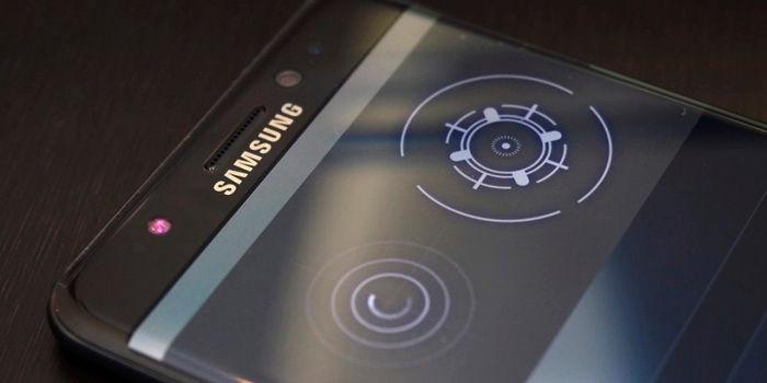 Samsung Galaxy S8 reconocimiento facial