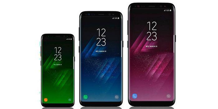 Samsung Galaxy S8 tres variantes
