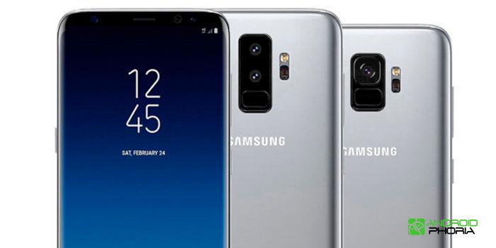 Samsung Galaxy S9 camara vertical