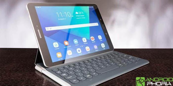 Samsung Galaxy Tab S3 con teclado