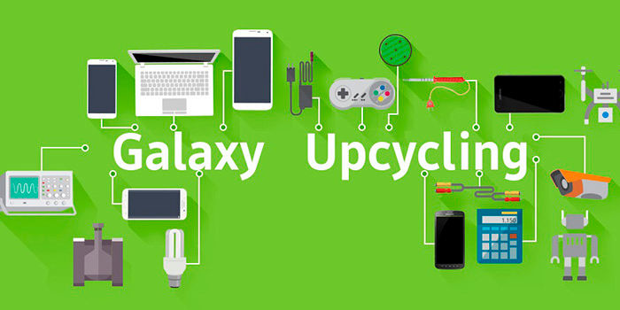 Samsung Galaxy Upcycling reciclar