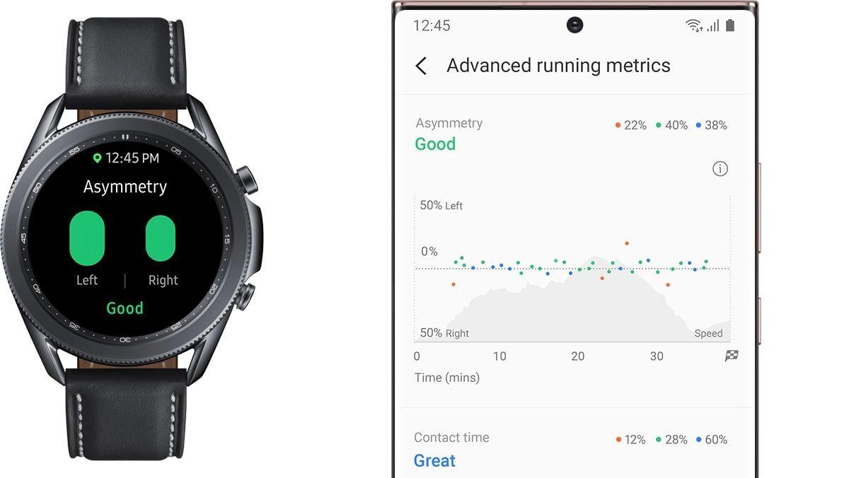 Samsung Galaxy Watch 3 analisis de carrera