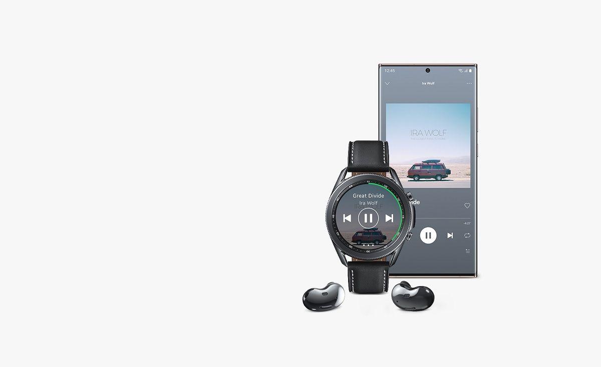 Samsung Galaxy Watch 3 musica