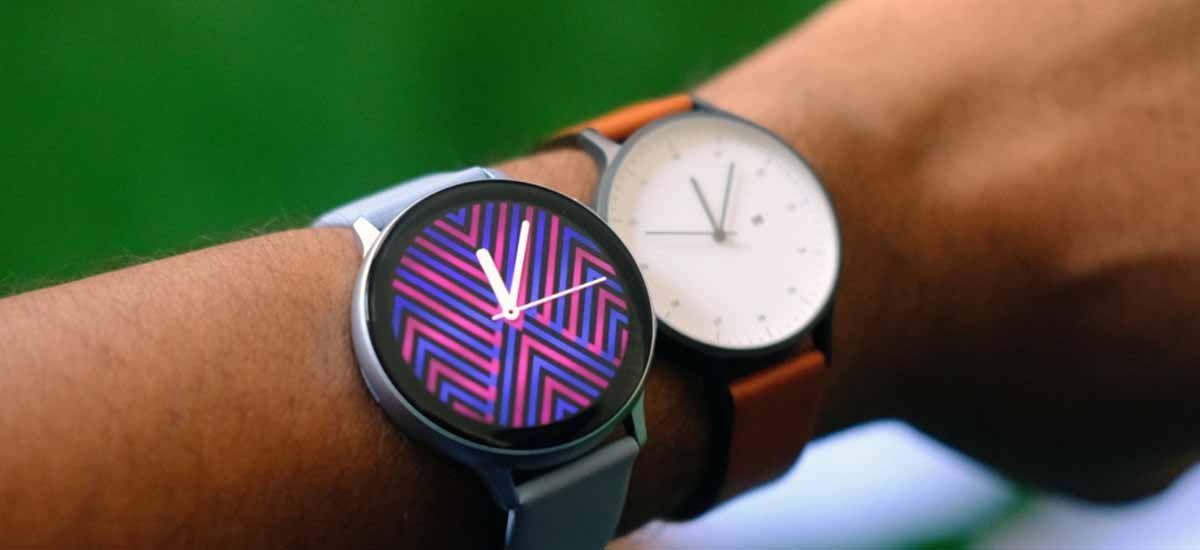 Samsung Galaxy Watch Active 2 un smartwatch que equilibra la elegancia con el diseño deportivo