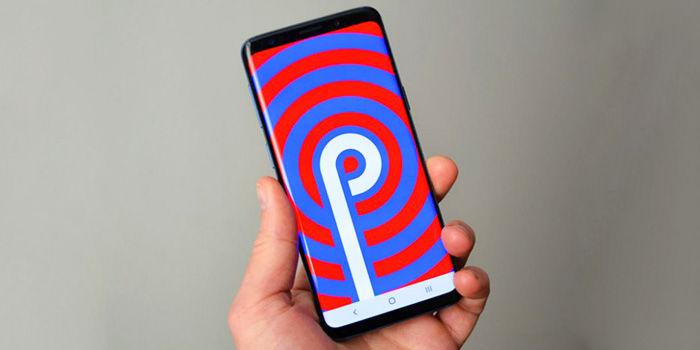 Samsung Galaxy actualización Android Pie