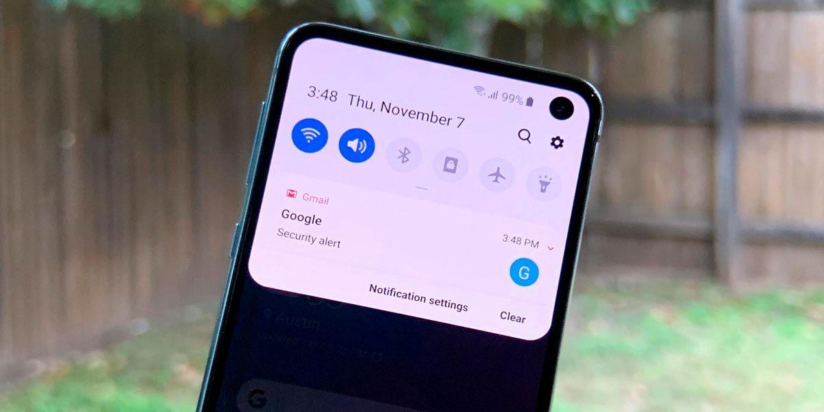 Samsung Galaxy no suenan las notificaciones solucion