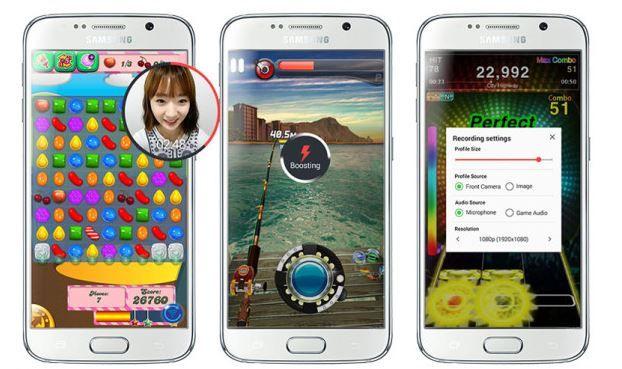 Samsung Game Recorder Capturas