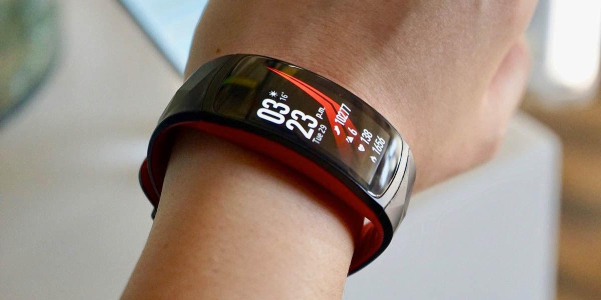 Samsung Gear Fit 2 Pro pantalla curva