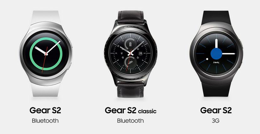 Samsung Gear S2, S2 3G y S2 Classic - Precios oficiales y lanzamiento