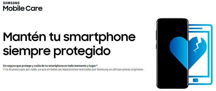 Samsung Mobile Care precios