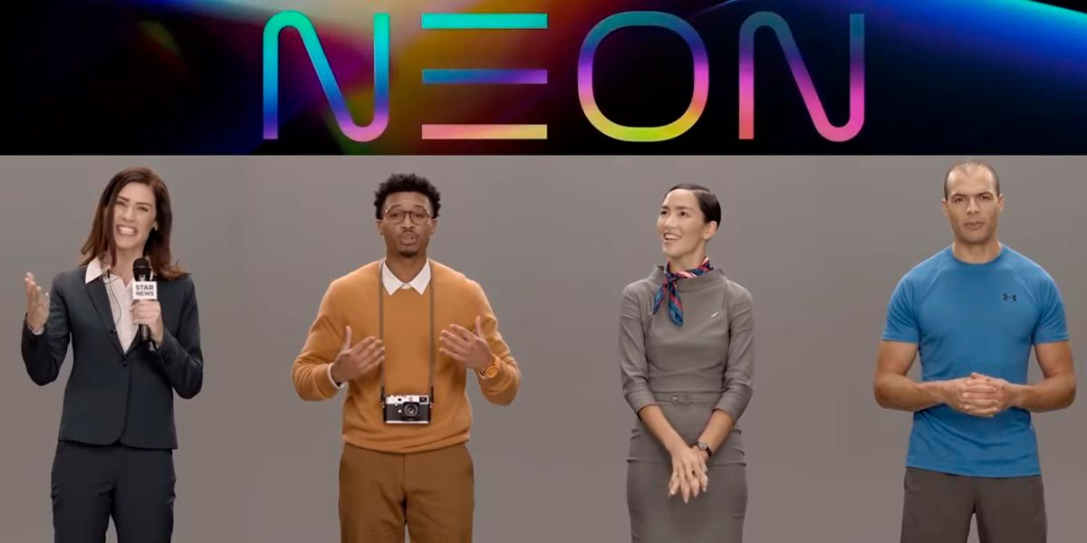 Samsung NEON asistents humanoides virtuales