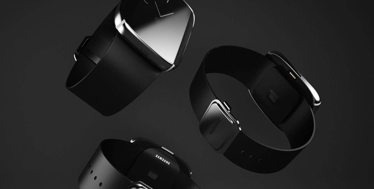 Samsung S6 Edge Smartwatch Concepto