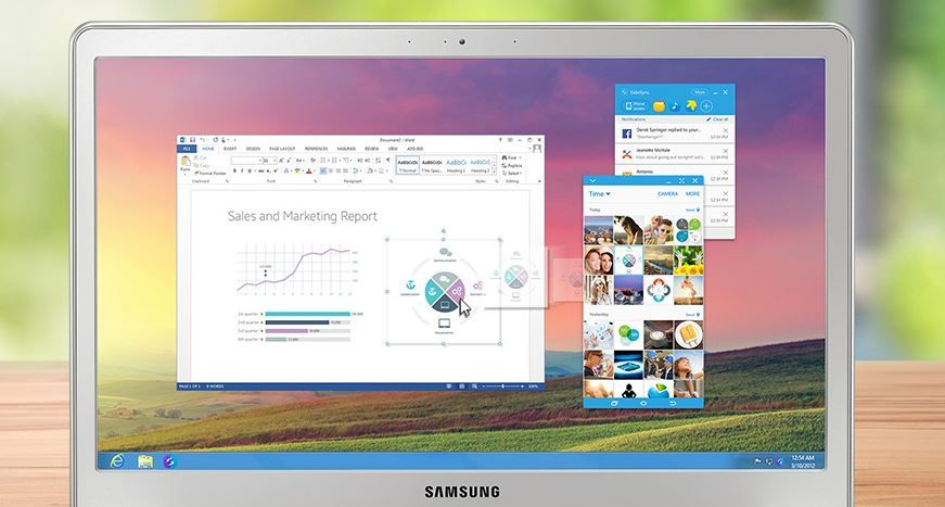 Samsung SydeSync 4.0 para PC