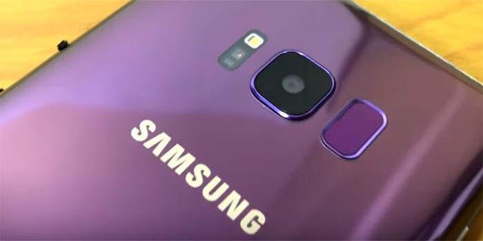 Samsung galaxy S8 violeta