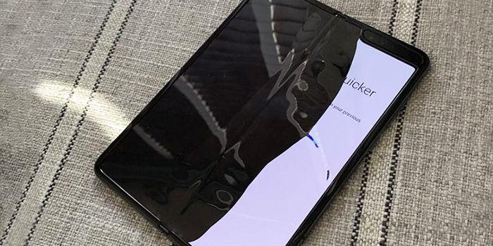 Samsung galaxy fold problemas pantalla