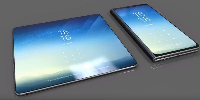 Samsung presenta su nuevo movil retractil