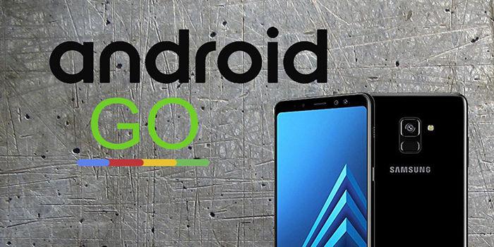 Samsung prueba su primer movil con Android Go