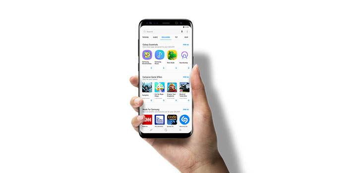Samsung regala dinero compras in app