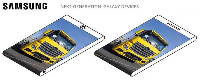 Samsung render de pantalla trasera