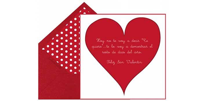San Valentin es siempre