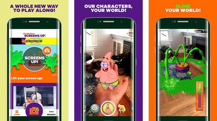 Screens Up by Nickelodeon para Android