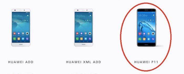 Se confirma el nombre del Huawei P11