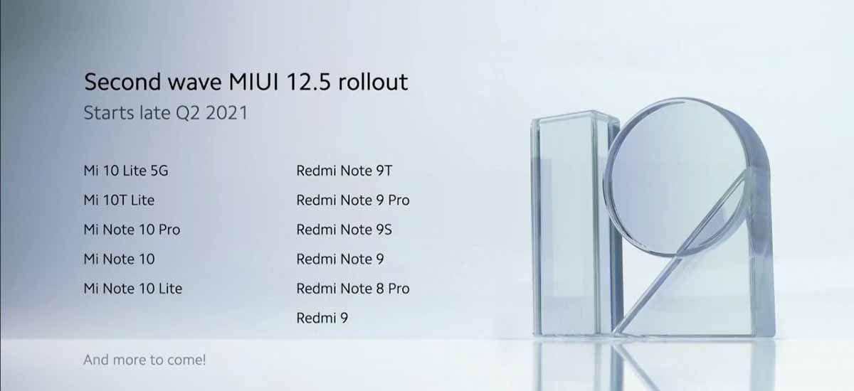 Segunda tanda de móviles que recibirán nueva versión de MIUI global