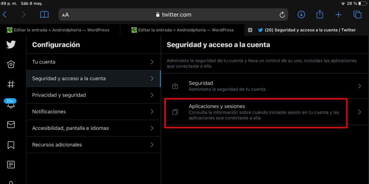 Seguridad y acceso a tu cuenta de Twitter