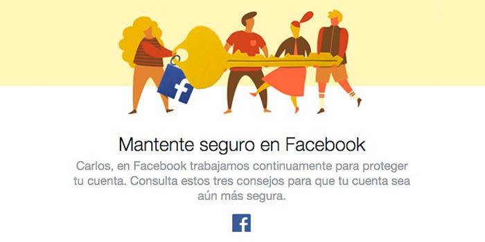 Seguro en Facebook