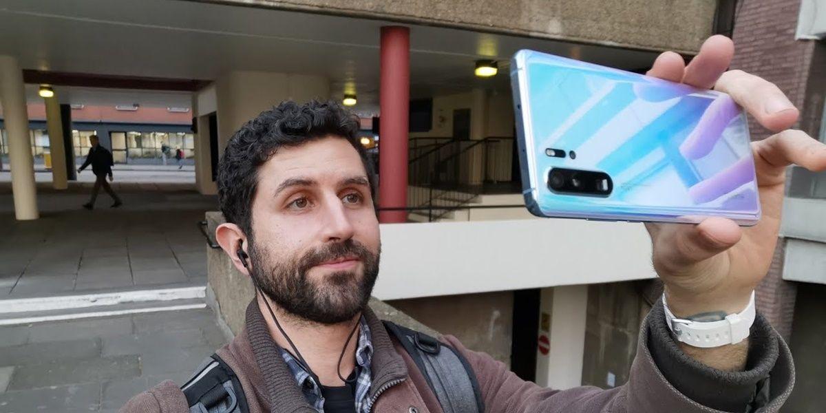 Selfie con Huawei P30