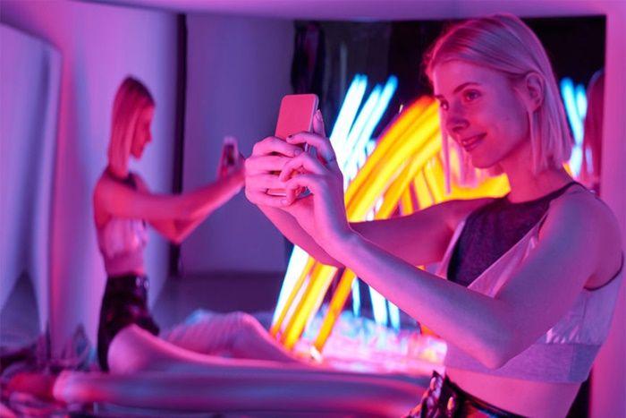 Selfies modo noche Huawei
