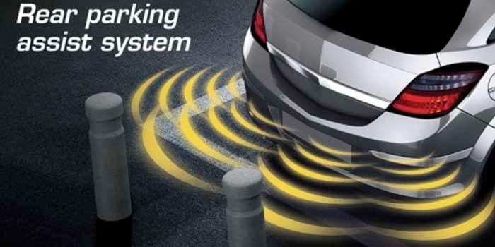 Sensor de aparcamiento barato con sonido