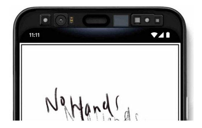 Sensores Pixel 4