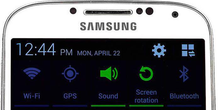 Sensores de Samsung