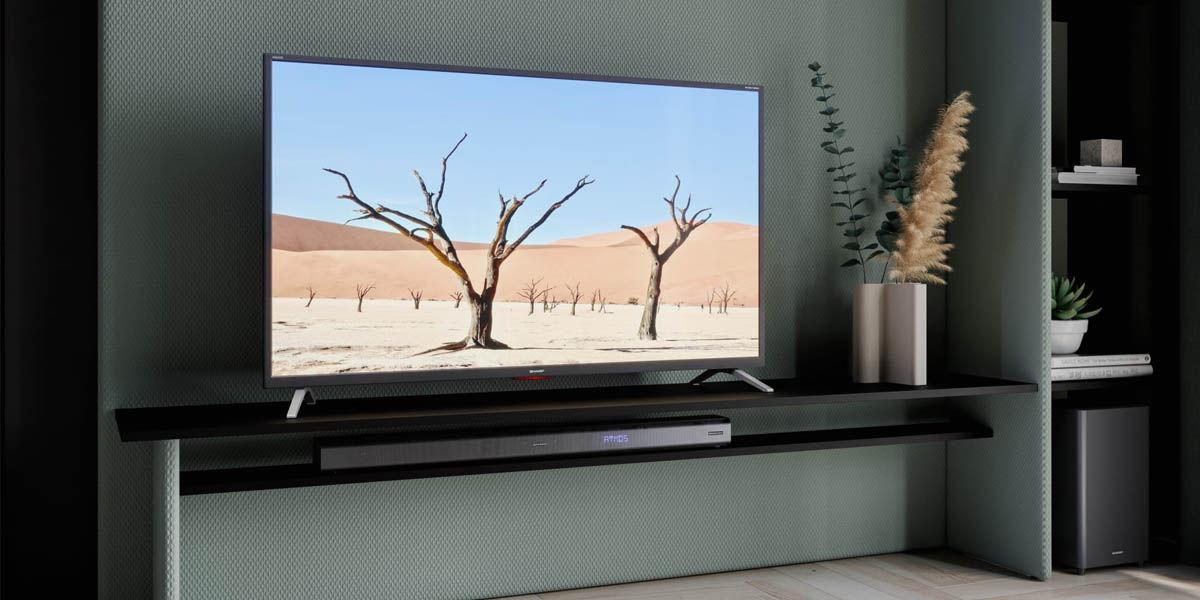 Sharp 40BL5EA android tv 4k 40 pulgadas mejor precio